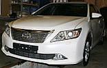 Декоративно-захисна сітка радіатора Toyota Camry фальшрадіаторная решітка, бампер, фото 5