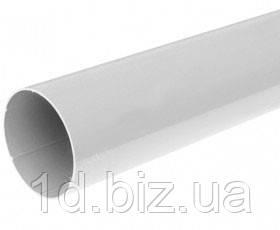 Труба водосточной системы Бриза (Bryza) 90 мм белый