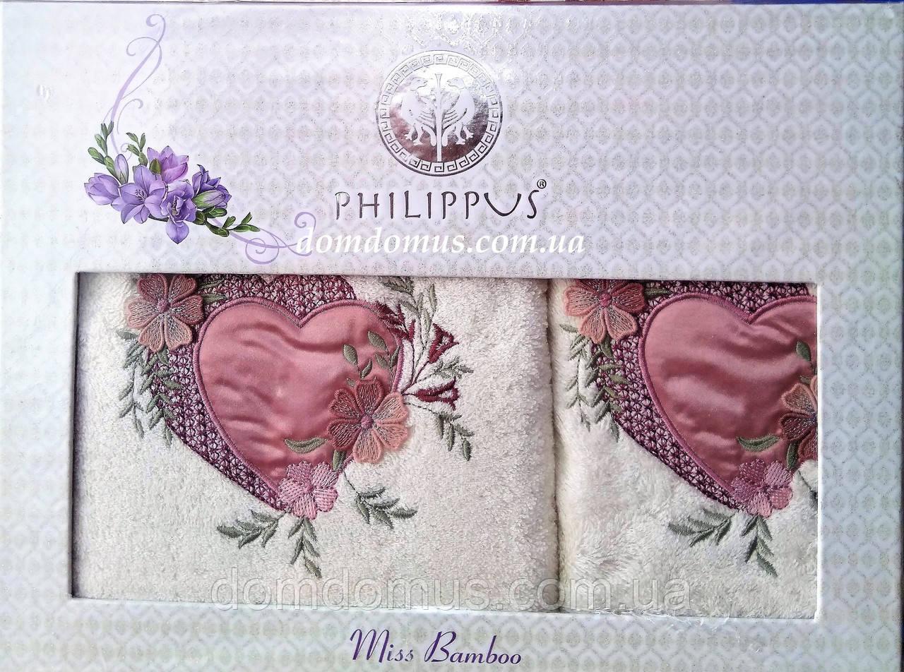 """Подарунковий набір рушників """"Mis Bamboo"""" бамбук Philippus, 9567"""