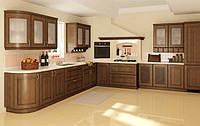 кухни из дуба с витражами фото 7