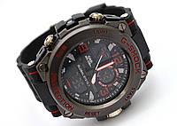 Часы  G-Shock - Global System, водозащита 5Bar,  черные c синим