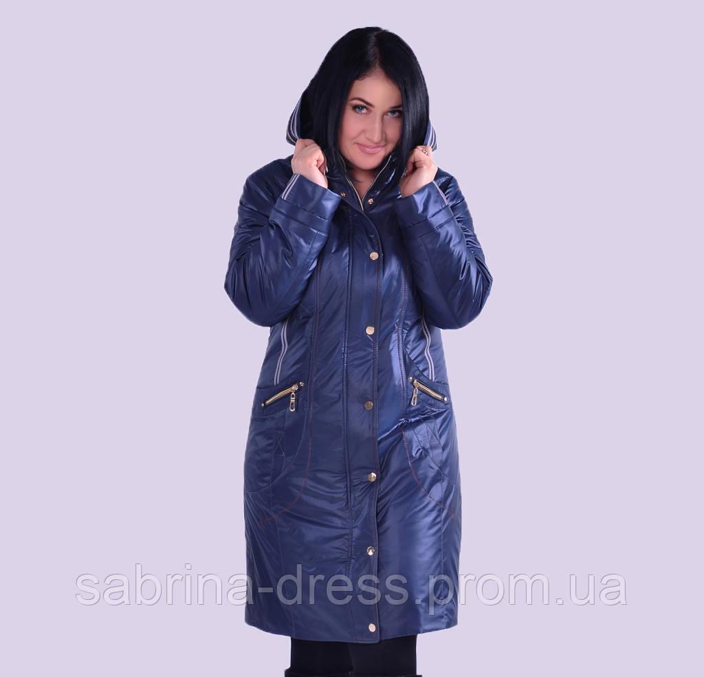 e1a446b8e96 Женская демисезонная куртка. Модель 33. Размеры 48-60 - sabrina-dress в