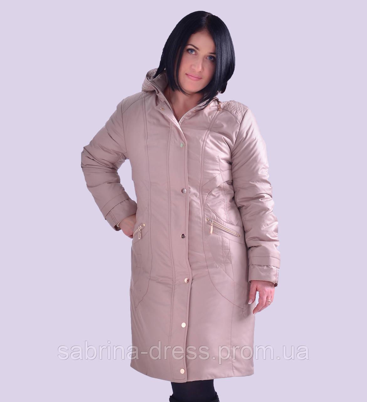 33dd1e07dd5 Женская демисезонная куртка. Модель 33. Размеры 48-60  продажа