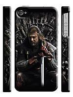 "Чехол ""Игра престолов"" Эддард Старк для iPhone 4/4s"