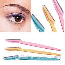 Триммер/бритва для коррекции формы бровей Tinkle Eyebrow Trimmer Shaver Knife (1триммер-35 грн), фото 3