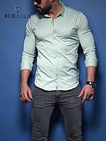 Мужская рубашка  М в наличии