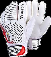 Перчатки вратарские юниорские AC MILAN (р. 5,6,7.), фото 1