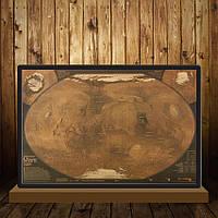 Постер Карта Mars ,  72.5см *48см