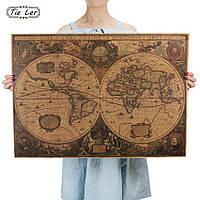 Постер Старинная карта  ,  72.5см *51.5см