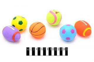 """Пікалки (м""""ячики 6 шт.) В101-3 р.18*27 см"""