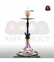 Кальян AMY Deluxe 057R Globe чёрный глянцевый
