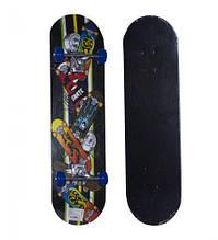 Скейт вид 3 BT-YSB-0054 PU колеса подвеска 1,7см 79*20см 3цв.ш.к./6/