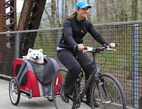 Trixie TX-12813 прицеп к велосипеду для собак до 20кг