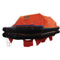 Lalizas Liferaft Solas Oceano, Throw Over-board Type,35 prs. canister (B)