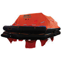 Lalizas Liferaft Solas Oceano, Throw Over-board Type,30 prs.canister (B)