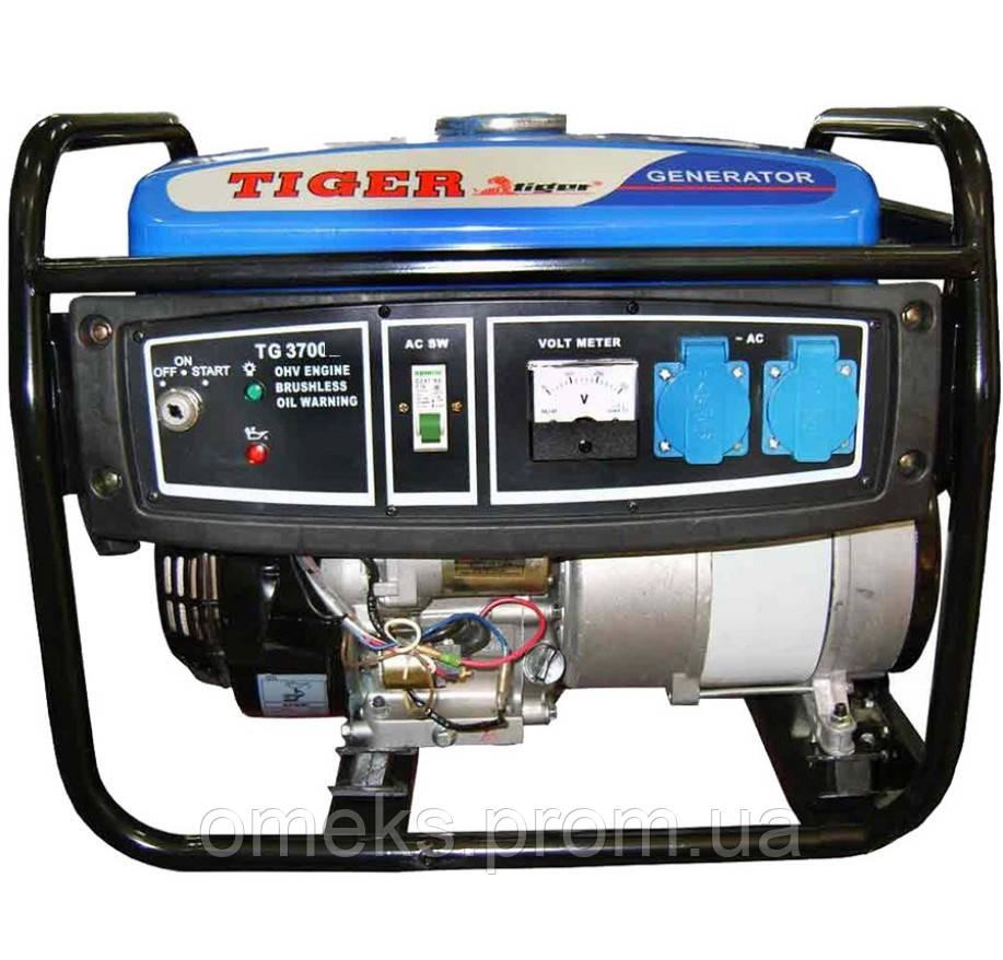 Бензиновый генератор Tiger TG3700 2.5кВт