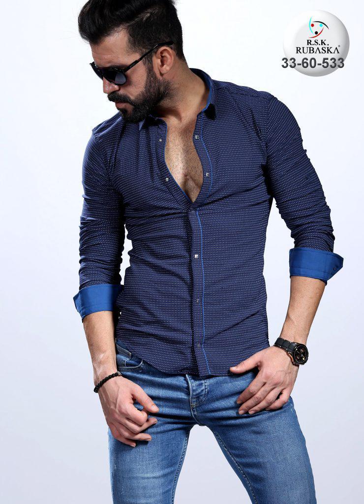 Стильная турецкая мужская рубашка