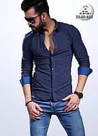 Стильная турецкая мужская рубашка, фото 1