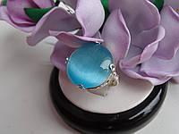 Серебряное кольцо с улекситом, фото 1