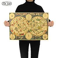 Постер Древний Знак Созвездия,  51.5см *36см