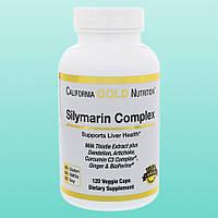 California Gold Nutrition, Силимарин, экстракт расторопши, 300 мг, 120 капсул