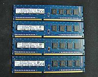 Память для компьютера Hynix 4GB DDR3 1600MHz PC3 12800U. Intel/AMD. Оригинал. Гарантия
