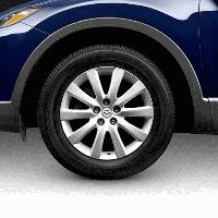Диск колесный литой r18 7,5j 5x114,3 et45 dia 67 design 125 cx-9 (производство MAZDA ), код запчасти: 9965137580