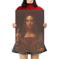 Постер Спаситель Иисус, да Винчи 39.5см *26.5см