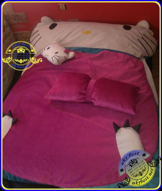 Детская кроватка для девочек в форме популярной героини - Hello Kitty. Эта кошечка как Золушка - мечтает о счастье - и станет лучшим подарком для Вашей дочки. Гарантия качества от разработчика и производителя в Украине - UkrBest.