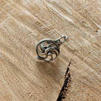 Кольцо Жемчужница / Размер регулируется: 16-19 см. Размер дкоративного элемента 2,5х4 см