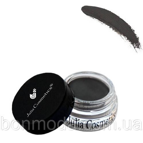 """Гелевая помада для бровей Julia Cosmetics Eyebrow Pomade JC-850 """"Ebony"""""""