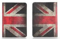 "Обложка на паспорт из мягкой кожи ""Великобритания"""
