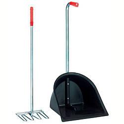Грабли и лопата для навоза Brosserie Oster