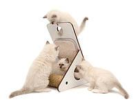 Когтеточка,дряпка для кота Hagen Vesper Playstation 52072 белая