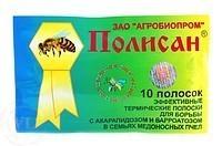 ПОЛИСАН- против варроатоза и акарапидоза  пчел.