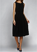 Женское маленькое черное платье сарафан ZARA коктейльное