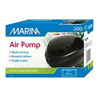 Hagen Marina Air Pump 300 (11118) -компрессор одноканальный для аквариума