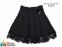 Школьная юбка MONE 1213, цвет черный
