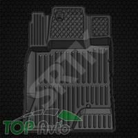 SRTK Глубокие резиновые коврики Chevrolet Captiva и Opel Antara