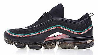 Мужские кроссовки NikeAir VaporMax 97 x Undefeated (Найк Аир Макс) черные