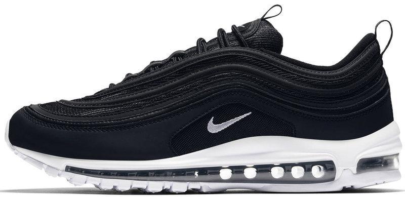 Мужские кроссовки NikeAir Max 97 (Найк Аир Макс) черно-белые