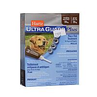 Hartz UltraGuard PLUS Drops - капли от блох , клещей и комаров для собак весом более 28 кг (3 пипетки)