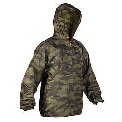 Куртка Solognac Imper Light 100 Camo-HT
