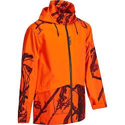 Куртка охотничья мужская Solognac Imper Supertrack 100