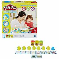 Игровой набор Play-doh Цифры и числа для детей от 2 лет Hasbro B3406