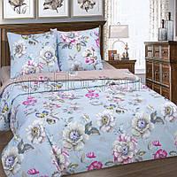 Ткань для постельного белья, поплин (хлопок) Ева компаньон (коричневая ткань)