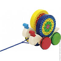 Игрушка-каталка Goki Двигающиеся улитки (54970G)