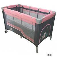 Манеж-кровать Baby Mix HR-8052-2