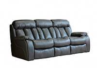 """Кожаный диван прямой раскладной """"Costner"""""""