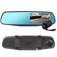 Зеркало заднего вида Видеорегистратор с Двумя Камерами DVR-138W